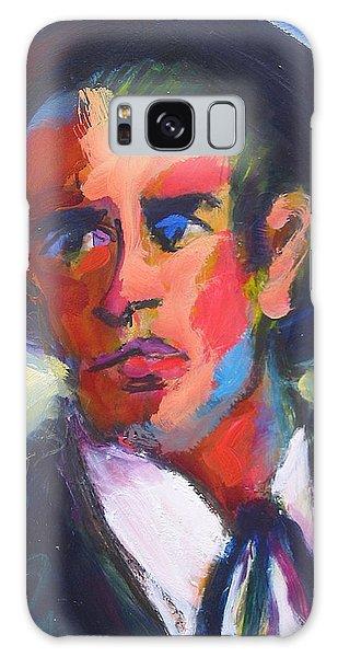 Bret Maverick Galaxy Case by Les Leffingwell