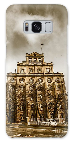 Outdoors Galaxy Case - Brewery Building by Jorgo Photography - Wall Art Gallery