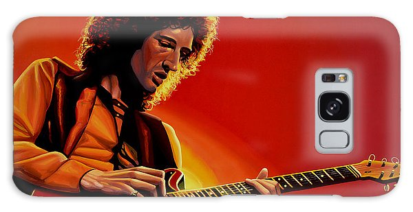 Brian May Of Queen Painting Galaxy Case