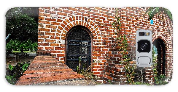 Brick Courtyard Galaxy Case