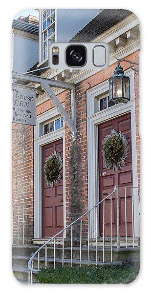 Royal Colony Galaxy Case - Brick House Tavern Colonial Williamsburg by Teresa Mucha