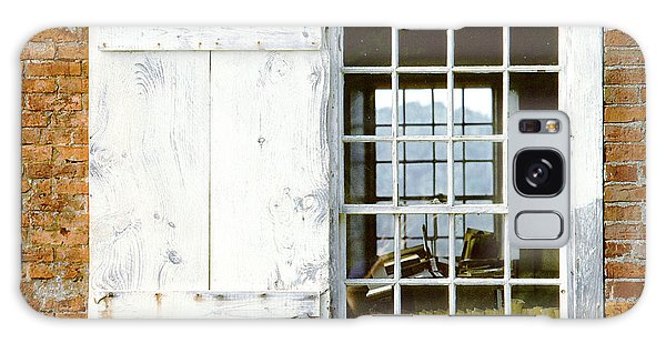 Brick Schoolhouse Window Photo Galaxy Case