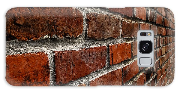 Brick Wall With Perspective Galaxy Case