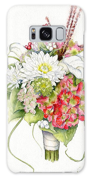 Bridal Bouquet Galaxy Case