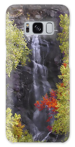Bridal Veil Falls Black Hills Galaxy Case