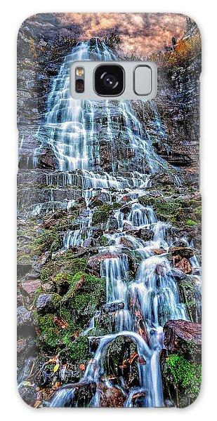 Bridal Veil Falls Utah Galaxy Case