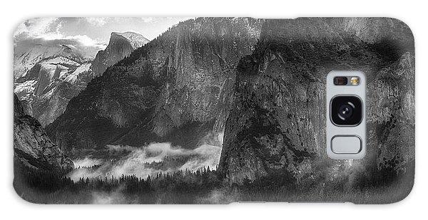 Bridalvail Falls And Half Dome Galaxy Case