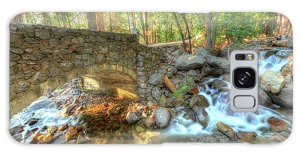 Bridalveil Creek At Yosemite By Michael Tidwell Galaxy Case