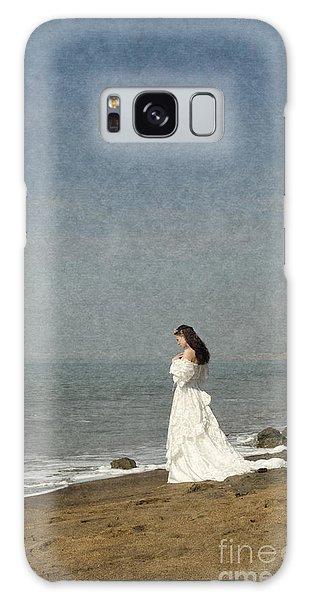 Bride By The Sea Galaxy Case