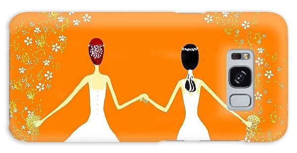 Brides Galaxy Case by Barbara Moignard