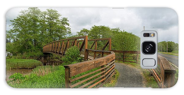 Galaxy Case - Bridge Along Lewis And Clark Hiking Trail  by David Gn