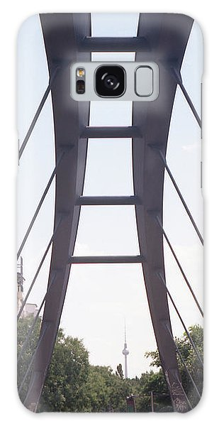Bridge And Alexanderplatz Tower Galaxy Case