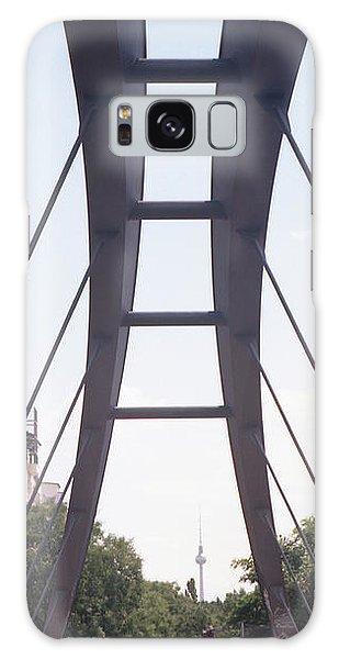 Bridge And Alexanderplatz Tower Galaxy Case