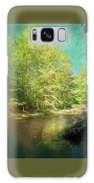 Handrail Galaxy Case - Bridge And Creek by Marvin Spates