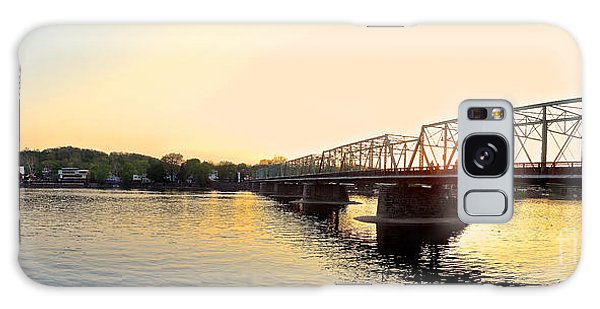 Bridge And New Hope At Sunset Galaxy Case