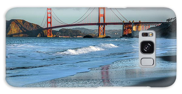 Bridge And Waves Galaxy Case