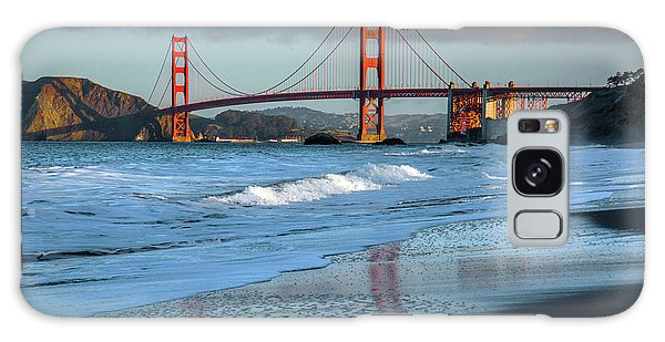 Bridge And Waves Galaxy Case