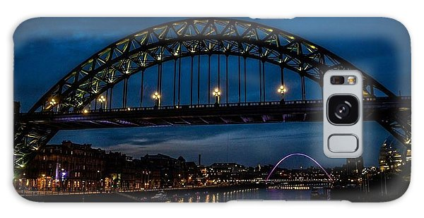 Bridge At Dusk Galaxy Case