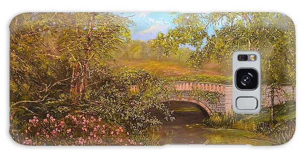 Bridge At Minterne Galaxy Case