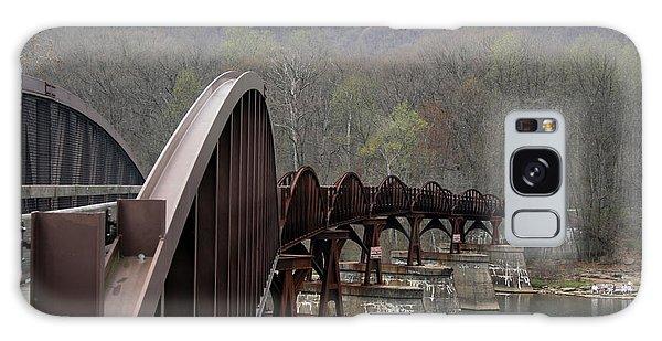 Bridge At Ohiopyle Pennsylvania Galaxy Case