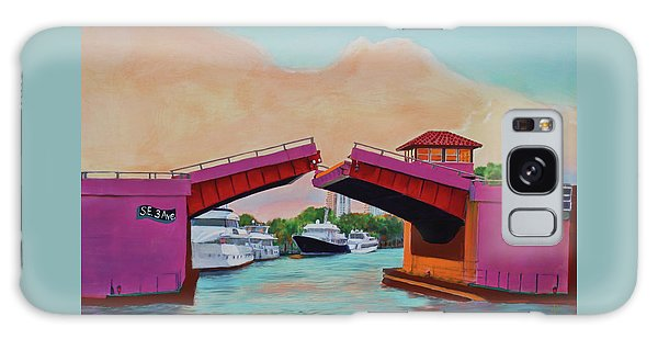 Galaxy Case featuring the painting Bridge At Se 3rd by Deborah Boyd