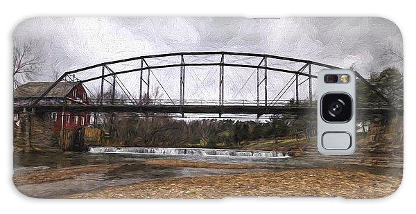 Bridge At The Mill Galaxy Case