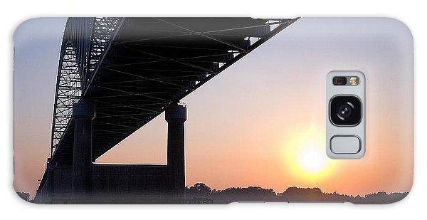 Bridge Over Mississippi River Galaxy Case