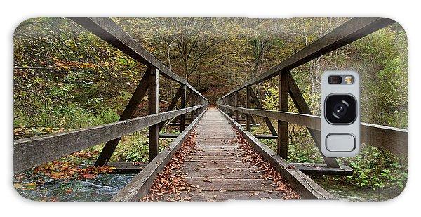 Galaxy Case featuring the photograph Bridge by Davor Zerjav