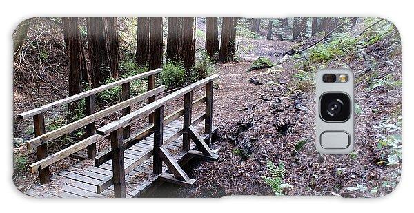 Bridge In The Redwoods Galaxy Case