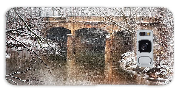 Bridge In Winter  Galaxy Case
