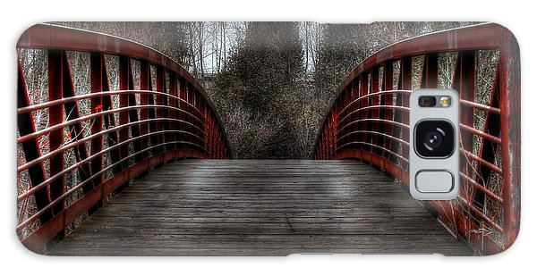 Galaxy Case featuring the photograph Bridge by Michaela Preston