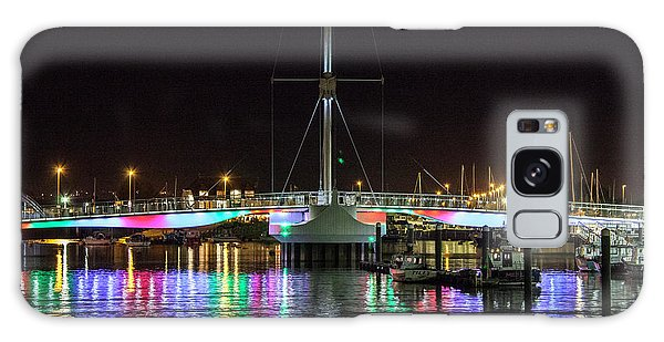 Bridge Of Lights Galaxy Case by Beverly Cash