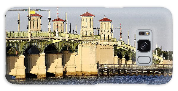Old Florida Galaxy Case - Bridge Of Lions by David Lee Thompson