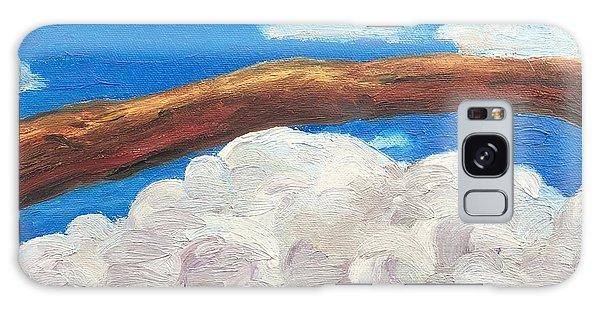 Bridge Over Clouds Galaxy Case