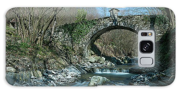 Bridge Over Peaceful Waters - Il Ponte Sul Ciae' Galaxy Case