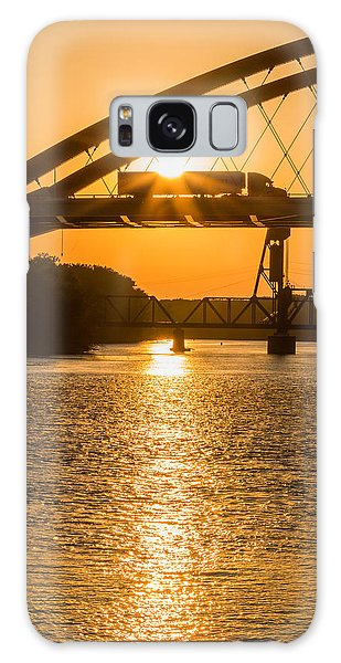 Bridge Sunrise #2 Galaxy Case