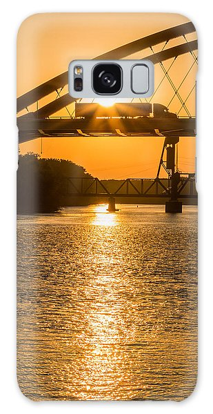 Bridge Sunrise 2 Galaxy Case by Patti Deters
