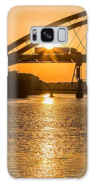 Bridge Sunrise #2 Galaxy Case