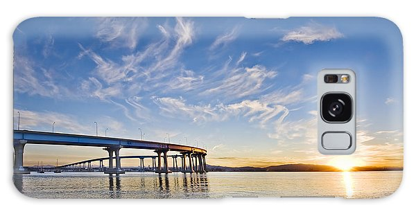 Bridge Sunrise Galaxy Case