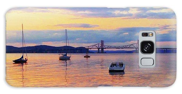 Bridge Sunset Galaxy Case