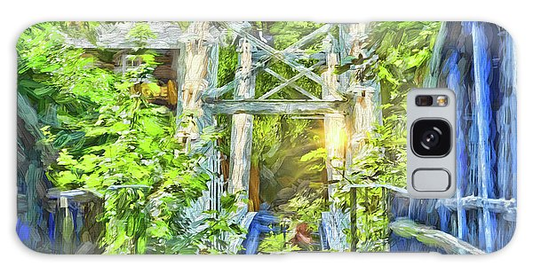 Galaxy Case featuring the photograph Bridge To Your Dreams by LemonArt Photography