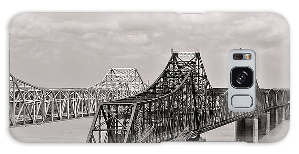 Bridges At Vicksburg Mississippi Galaxy Case
