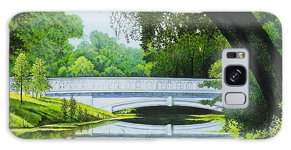 Bridges Of Forest Park IIi Galaxy Case by Michael Frank