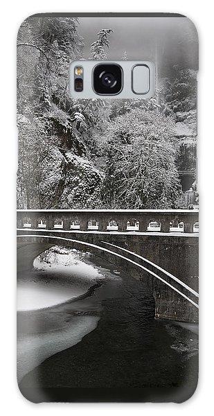 Bridges Of Multnomah Falls Galaxy Case