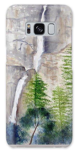 Bridal Veil Waterfall Galaxy Case