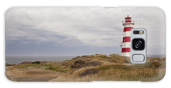 Briers Island Lighthouse Galaxy Case
