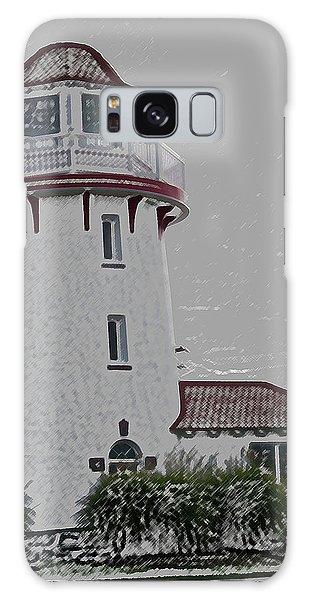 Brigantine Lighthouse Galaxy Case