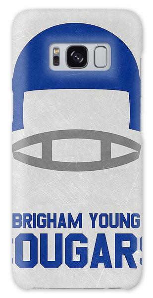 March Galaxy Case - Brigham Young Cougars Vintage Football Art by Joe Hamilton