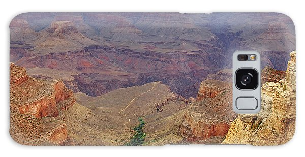 Southwest Usa Galaxy Case - Bright Angel Trail by Ricky Barnard