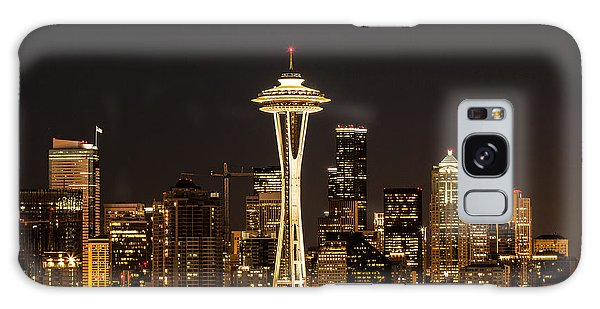 Bright At Night - Space Needle Galaxy Case